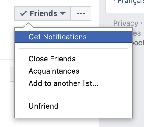 Selecting Facebook List when Posting