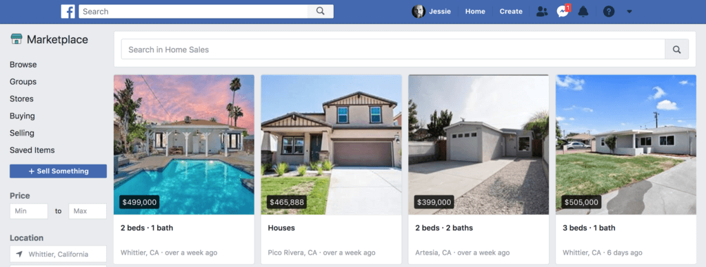 Learn how to post real estate listings to Facebook marketplace to generate online real estate leads for free.