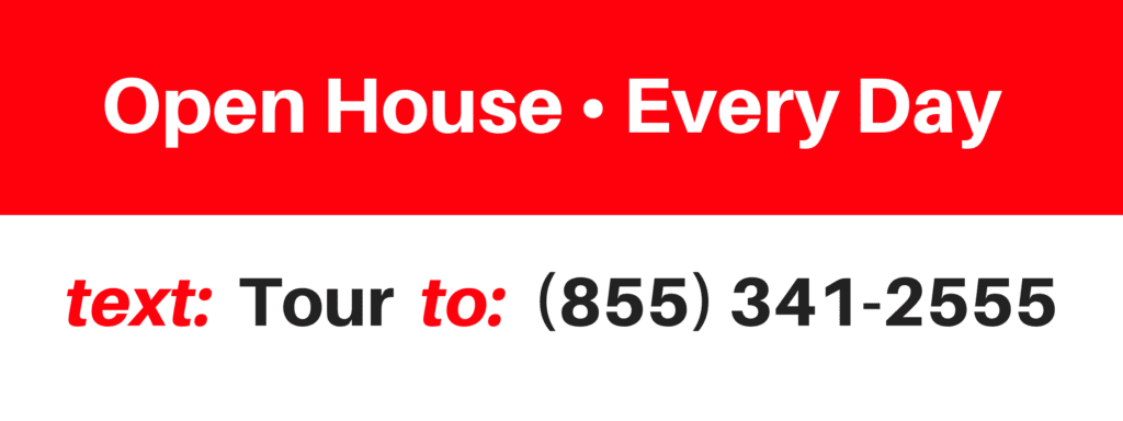 Text for Info Open House Lead Generation